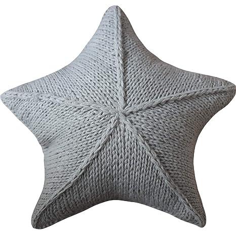 HU Nordic Star Wool Pillow - Cojín for sofá Cama Star, Cinco ...