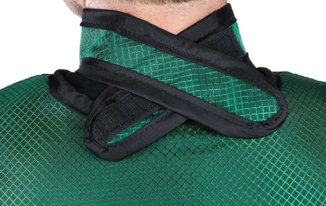 Standard Unattached Thyroid Collar, Regular Lead, 0.5mm Pb Lead Equivalency, Emerald