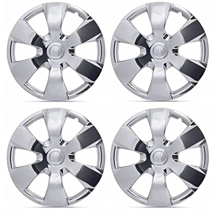 BDK Toyota Camry Style Hubcaps , Chrome 16