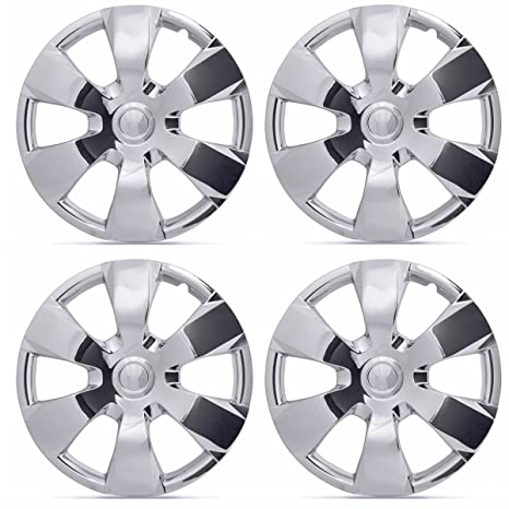 Amazon.com: BDK KT-1000-16-C_King1 Hubcaps Chrome 16
