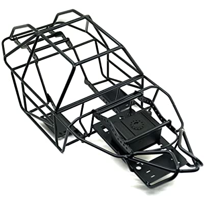 1/10 Scale Steel Frame Body Châssis en cage for Axial SCX10-II 90046 1:10th RC Crawler Buggy Voiture