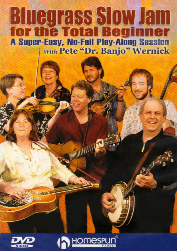 Pete Wernick - Bluegrass Slow Jam For The Total Beginner [Instructional] (DVD)