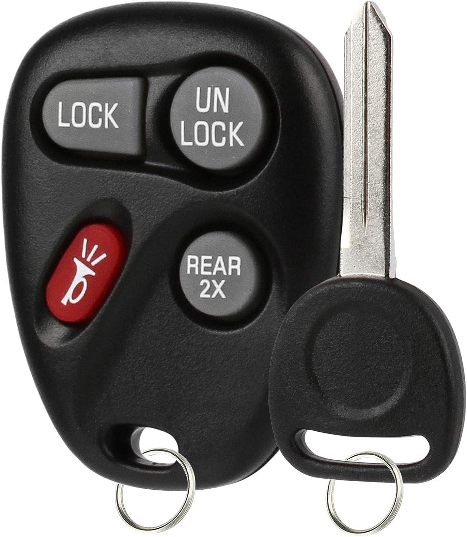 Keyless Entry Remote Fob Ignition Key