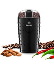 Royal Electric Coffee Bean Grinder Espresso Spices Nuts Herbs Grinder 150W Power