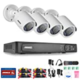 Amazon Price History for:ANNKE 8CH 1080P HD-TVI H.264+ Video DVR Security Camera System and (4) 1920TVL 2.0MP Weatherproof Security Cameras with Smart Search/Playback