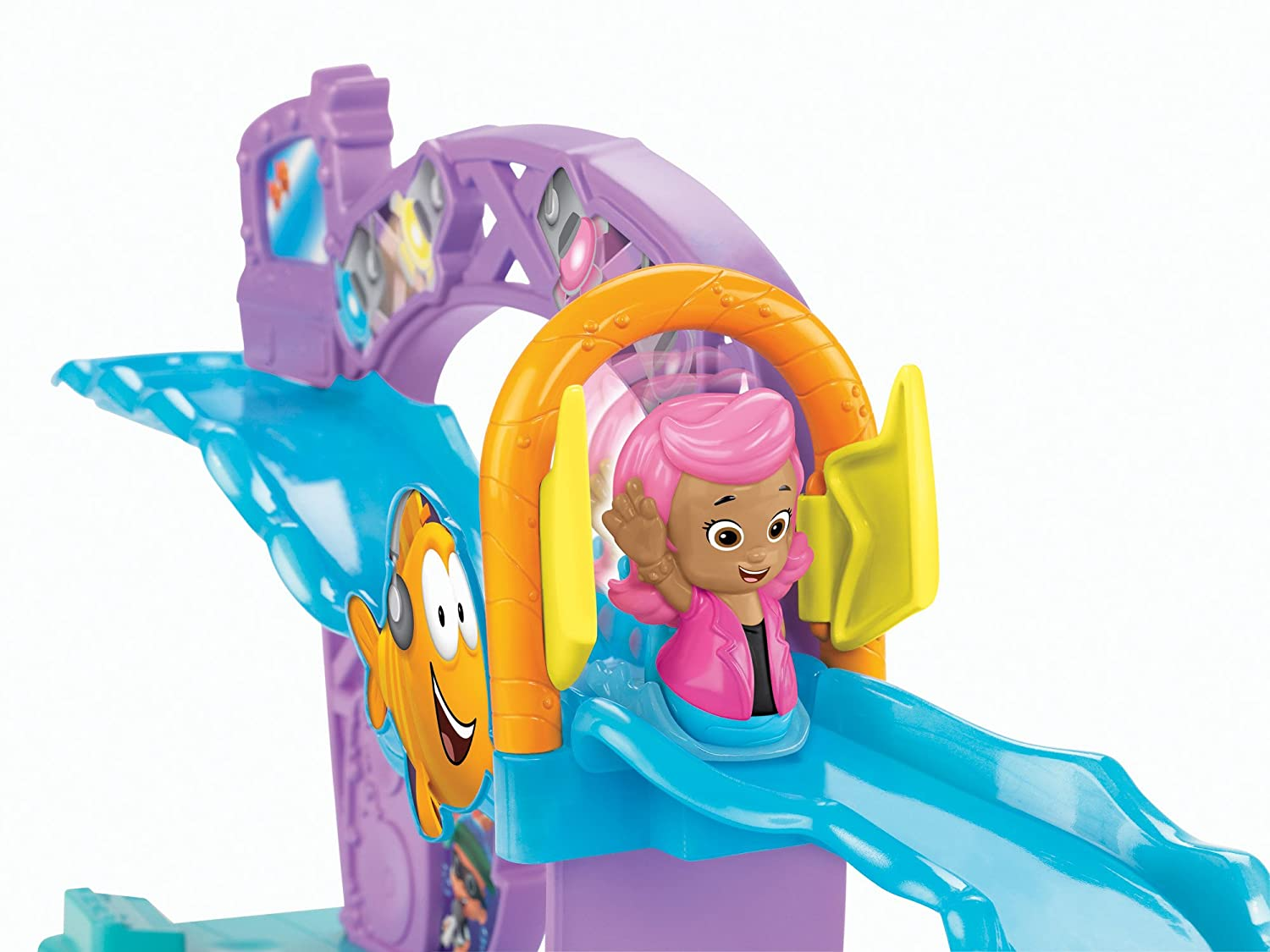 amazon com fisher price bubble guppies rock and roll stage toys