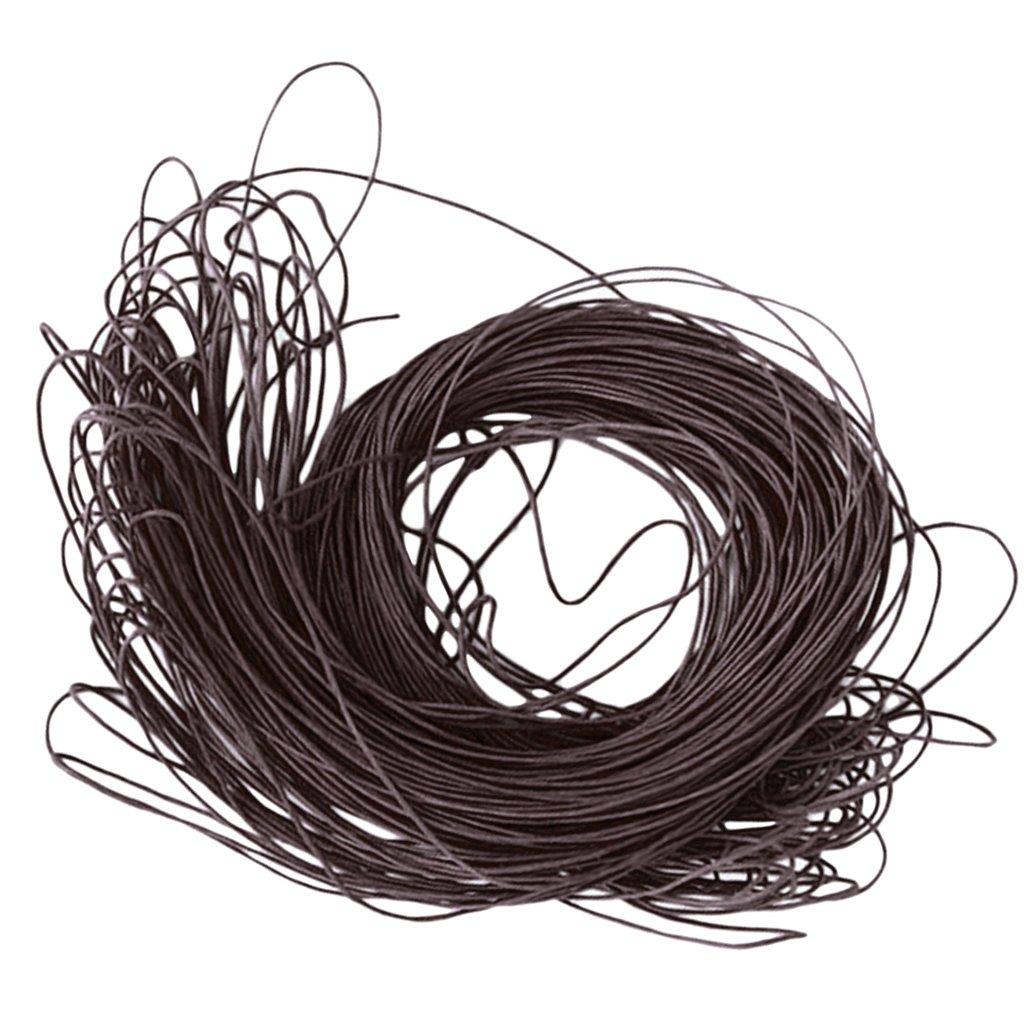Generic - 45 metros encerado cordón algodón 1mm cadena de ...