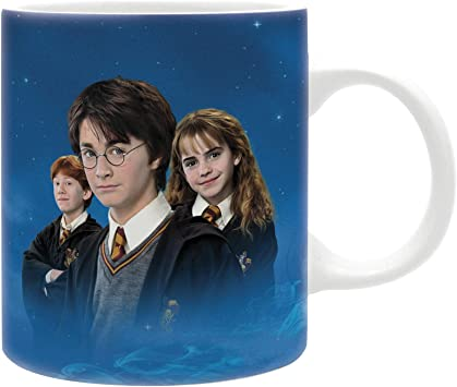 Taza Harry Potter, Harry, Hermione y Ron (Niños). 320ml ...