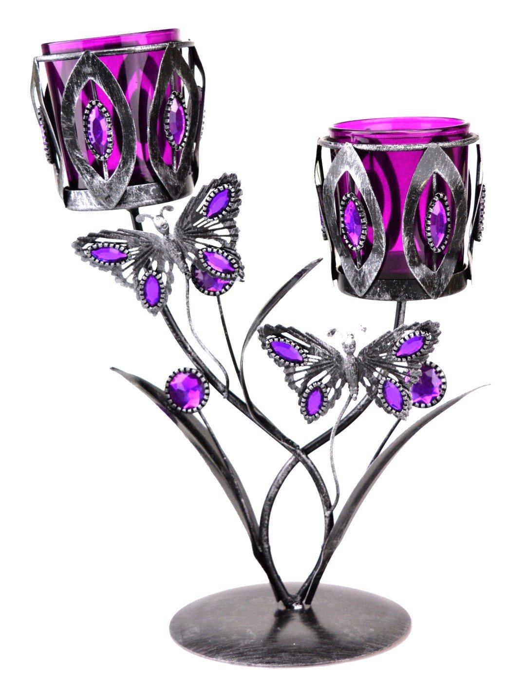 nouveaux produits pour style moderne meilleur grossiste En métal en forme de Papillon porte-bougie chauffe-plat ...