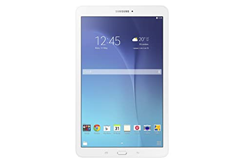 Samsung Galaxy Tab E 9.6-Inch Wi-Fi Tablet, White, Intel Quad-core 1.3 GHz, 1.5 GB RAM, 8 GB ROM, Android 4.4, UK Version