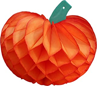 product image for 3-Pack 10 Inch Tissue Pumpkin Decoration, Orange