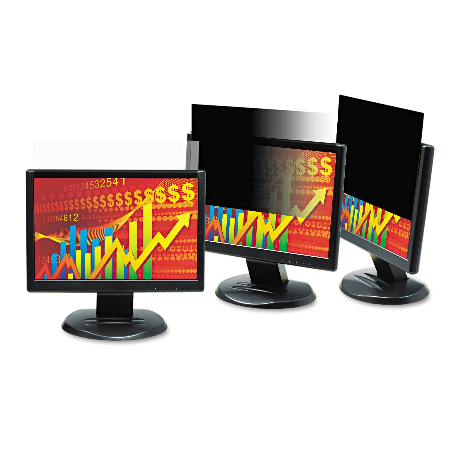 MMMPF220W - 3m Blackout Frameless Privacy Filter for 22amp;quot; Widescreen LCD Monitor