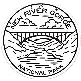 "Columbia River Gorge Decal Sticker 3.4/"" x 2.75/"" Oregon Washington Recreation"