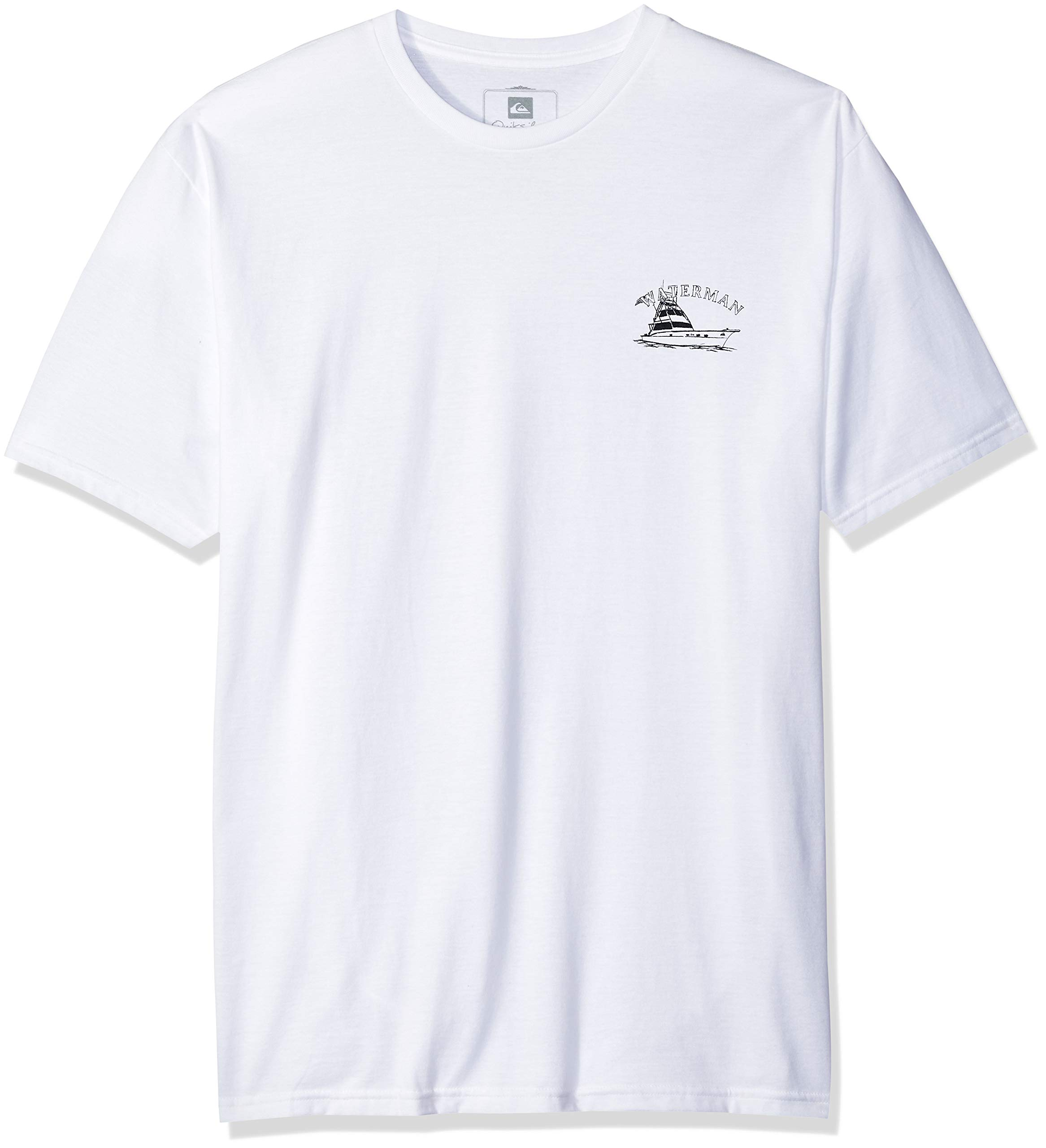 Quiksilver Men's Lauderdale TEE Shirt, White, XL