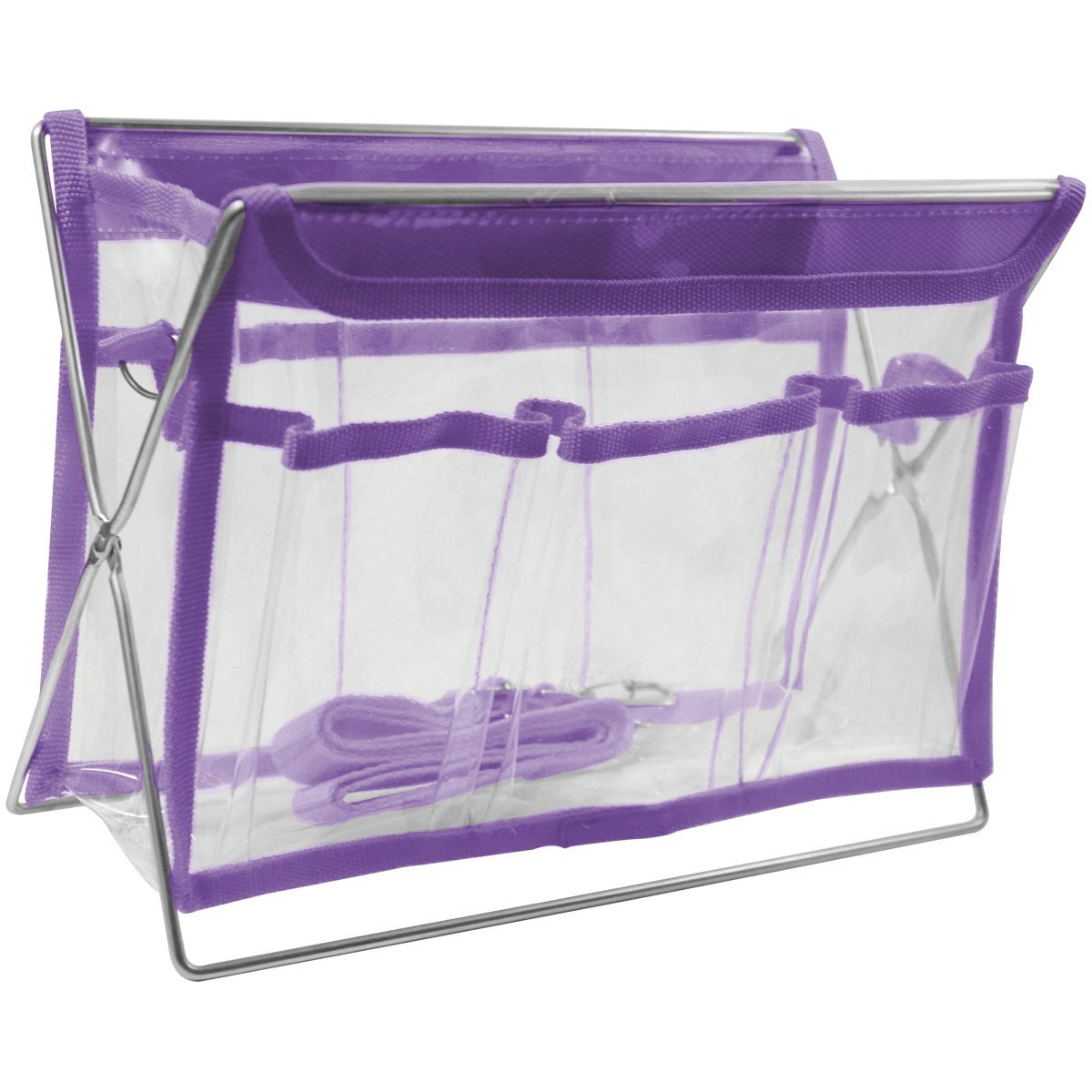 Sullivans 43245730 Small Sassy Purple Tote