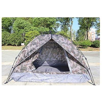 HONEYY Camping de loisirs de plein air 3-4 lits superposés tentes camouflage pêche visites extérieures automatiquement sur 82 tente portable*19*20cm