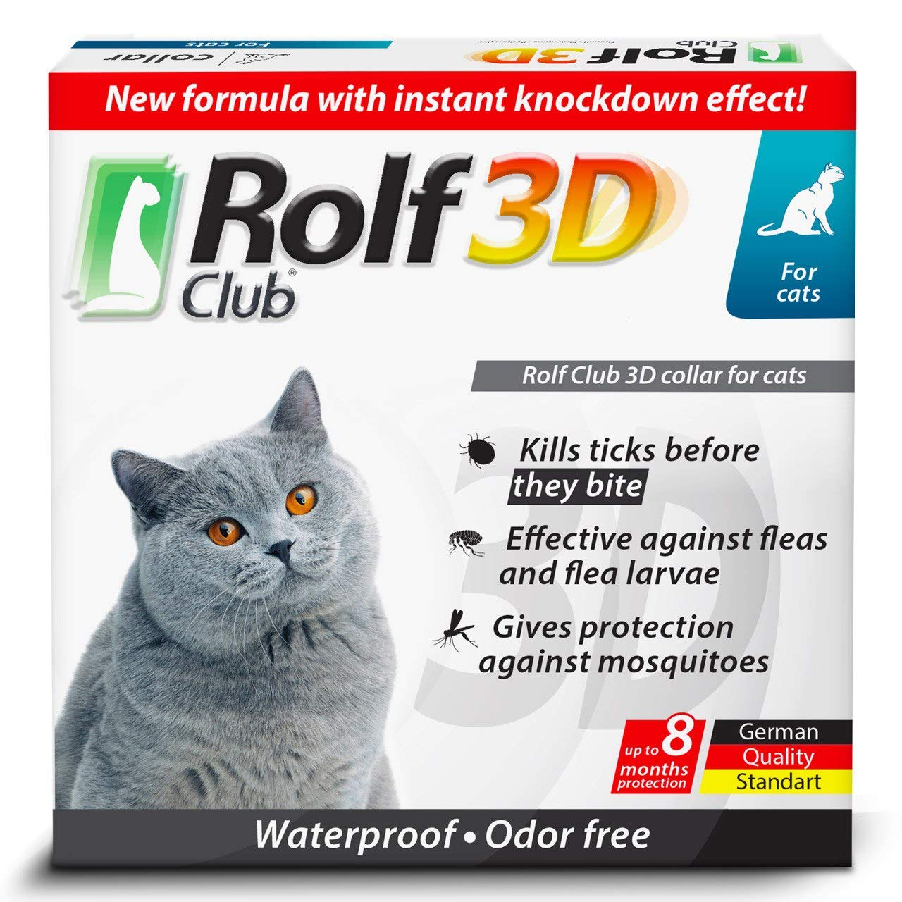 Rolf Club 3D FLEA Collar for Cats