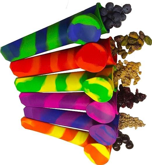 153 opinioni per :iNeibo Kitchen stampi ghiaccioli silicone, Set da 6 stampi 100% silicone