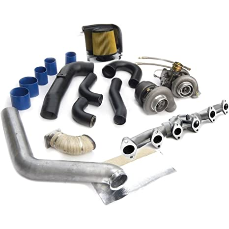 BD Diesel 1045330 B Twin Turbo Kit