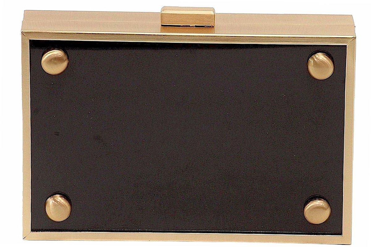 LOVE Moschino Women's Box Clutch Black Clutch by Love Moschino (Image #4)