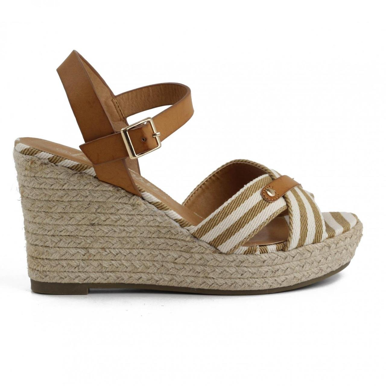 Refresh Keilabsatz Schuhe Keilabsatz Refresh für Damen 62088 TEX Taupe 56c93e