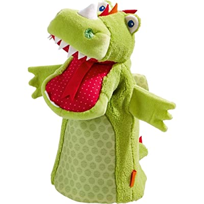 HABA Glove Puppet Dragon Vinni: Toys & Games