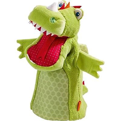 HABA Glove Puppet Dragon Vinni: Toys & Games [5Bkhe0304143]