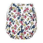 GroVia Reusable Hybrid Baby Cloth Diaper Snap Shell (Calico)