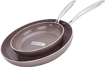WaxonWare 8.5 & 12 Inch Ceramic Frying Pan