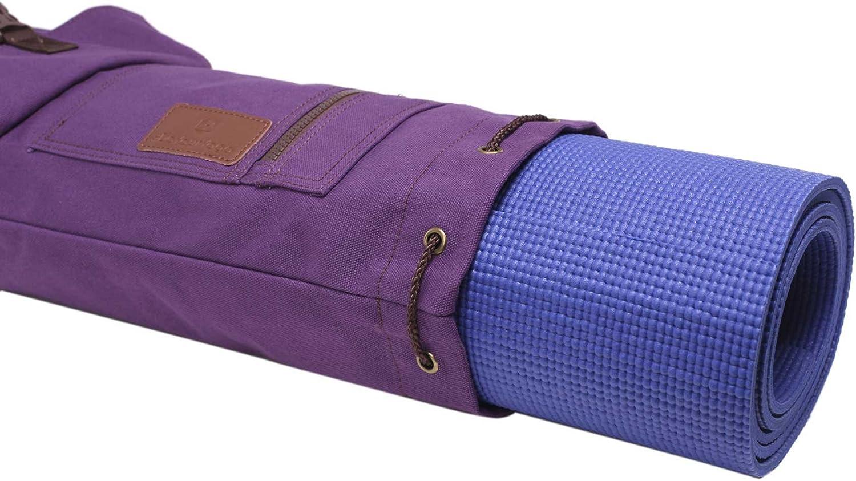 "violet Yogatasche /""sharmila/"" yoga Bag yoga sac fitness sport"