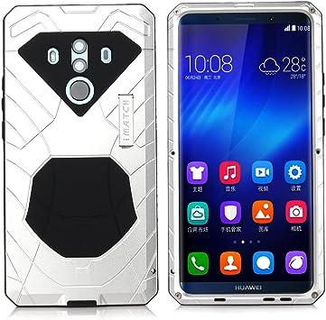 East Coo Huawei P20 Pro, Mate 10 Pro Carcasa Case Resistente al Agua antigolpes Alloy Aluminum: Amazon.es: Electrónica