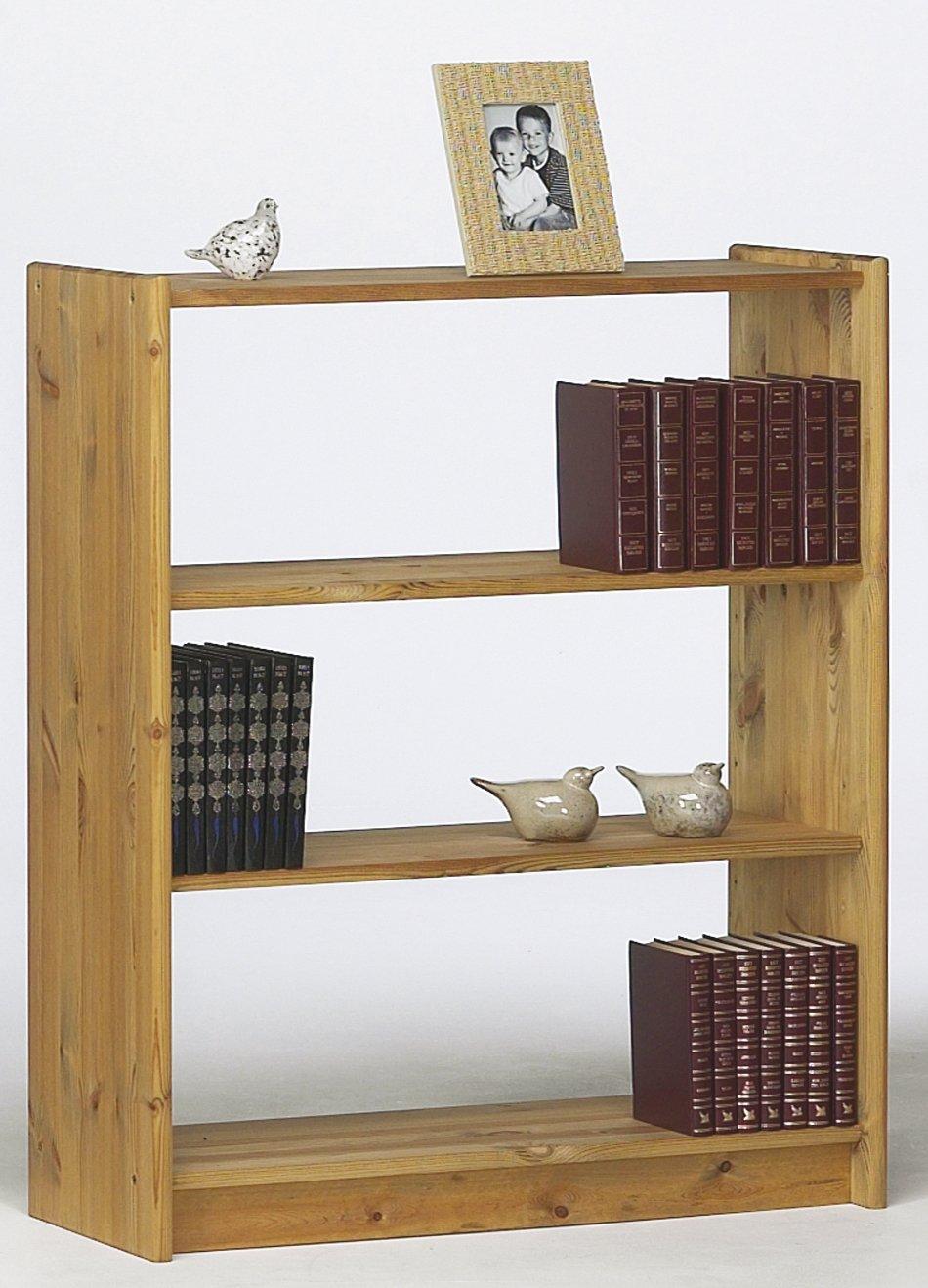 Steens AXEL Bücherregal, Kiefernholz mit 2 Regalböden, gelaugtes gelaugtes gelaugtes Ölfinish 6d821f