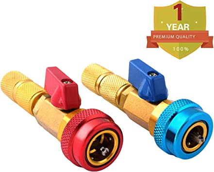 Buy One Get Seven Automotive Air Conditioning R134A Valve Core High Low Pressure Tool Quick Remover Installer
