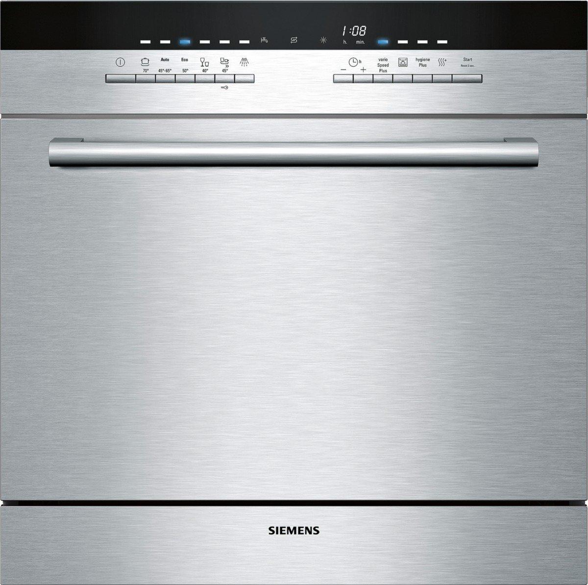 Siemens SC76M541EU lavavajilla - Lavavajillas (Independiente, Acero inoxidable, Botones, 45 Db, A, 70 ° C) 70 °C)