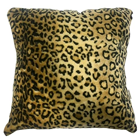 Rasilan Funda de Cojín Leopardo 45 x 45 cm: Amazon.es: Hogar