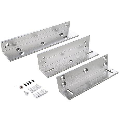 UHPPOTE Z & L ZL Soporte Para 180KG 350lbs Cerradura Eléctrica Magnética De Puerta Interior