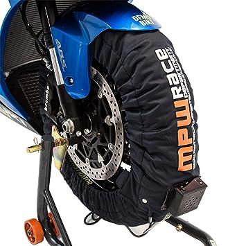 MPW Race Dept Digital Superbike Calentador de neumáticos 180-190/120 (gris oscuro): Amazon.es: Coche y moto