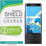 (2-Pack) RinoGear BlackBerry PRIV Screen Protector Case Friendly Screen Protector for BlackBerry PRIV Accessory Full…