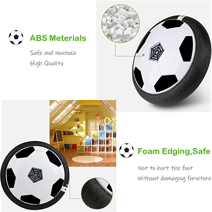 BelleStyle Air Power Soccer, Air Hover Ball Juguete Balón de ...