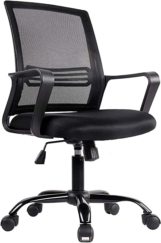 SmugDesk Swivel Office Chair - Light and Fast