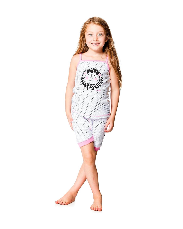 Deux par Deux Girls Shorts and Tank Top Pyjamas Sizes 2-12