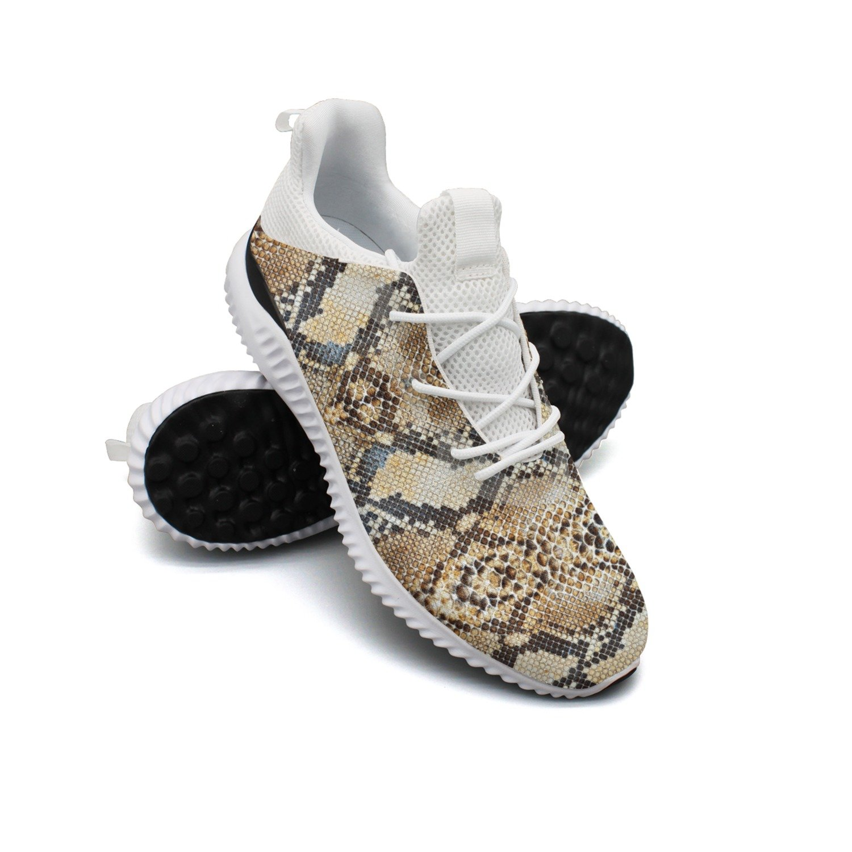 Python Snake Skin Animal Leisure Running Shoes Women New Unique Gift