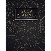 2019 Planner Weekly and Monthly: 12 Month and Weekly Daily Agenda Organizer and Calendar Journal Notebook, 52 Week Monday To Sunday 8AM To 9PM Hourly Appointment, Therapist Planner, Monthly Goals (Volume 1)