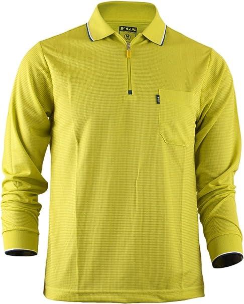 BCPOLO ropa deportiva de manga larga con cremallera el polo ...