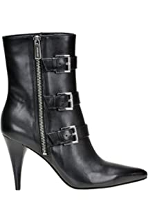 60b4272652d2 Michael Kors Michael Women s MCGLCAS000004229I Black Leather Ankle Boots