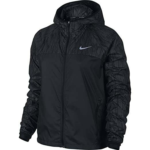 f08bac086 Amazon.com  Nike Women Shield Flash Running Jacket