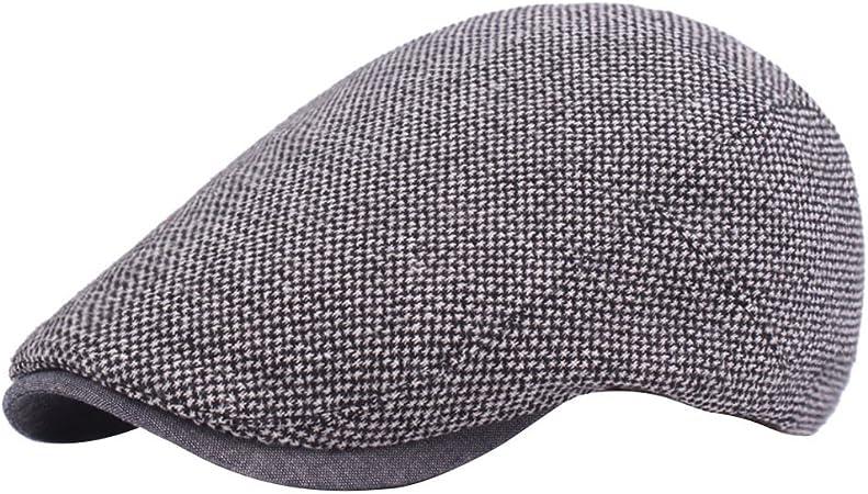 Gespout Sombreros Gorras Boinas para Paño Hombres Mujer Cómodo ...