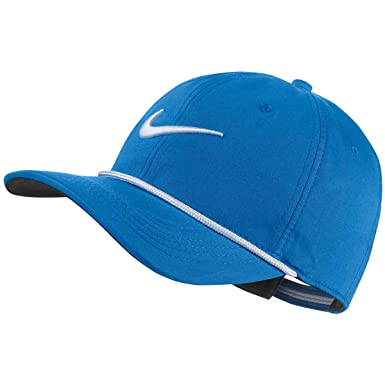 c1650ca7e66f55 Nike AeroBill Classic99 Golf Rope Hat AR6320 (Blue Nebula) at Amazon Men's  Clothing store: