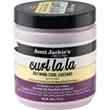 Aunt Jackie's Curl La La, Lightweight Curl Defining Custard, Creates Long Lasting Curly Hair with Mega-moisture…