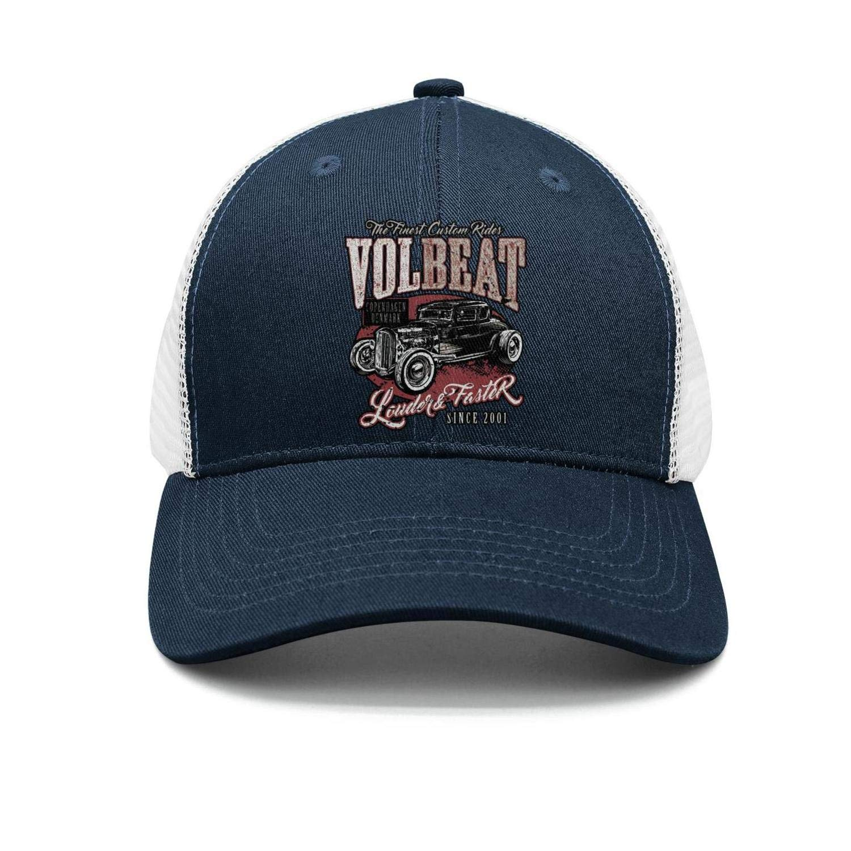 Snapback hat Trucker Hats Sports Caps JesseKeats Man Volbeat-Logo